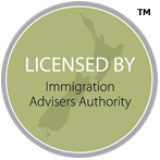 Licenced by Immigrations Advisors authority
